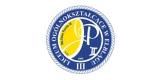 III Liceum Ogólnokształcące w Elblągu logo
