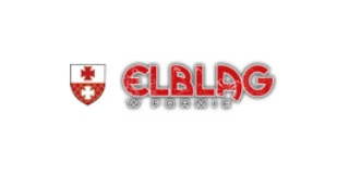 Elbląg w formie logo