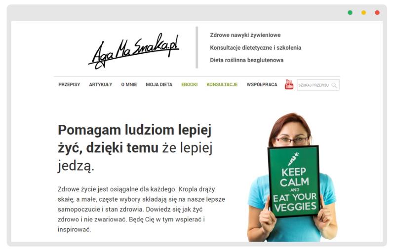 AgaMaSmaka - dietetyk online