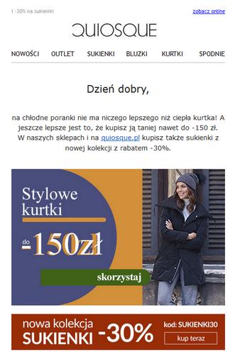 przykład maila marketingowego